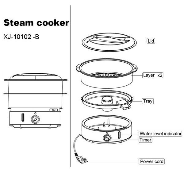 oem rice steamer