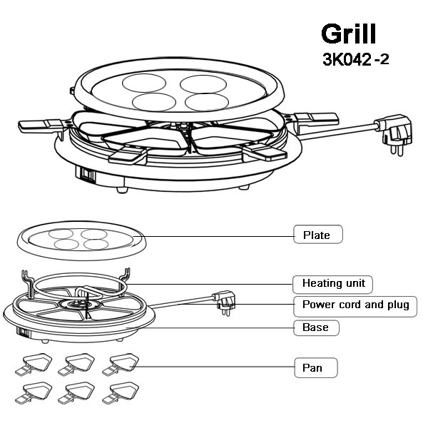 crepe grill